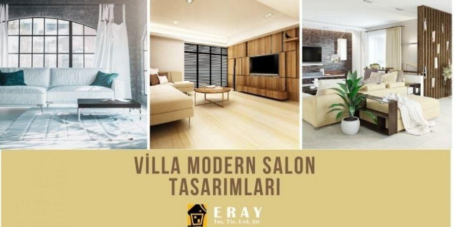 Eraygrup Villa Modern Salon Tasarımları