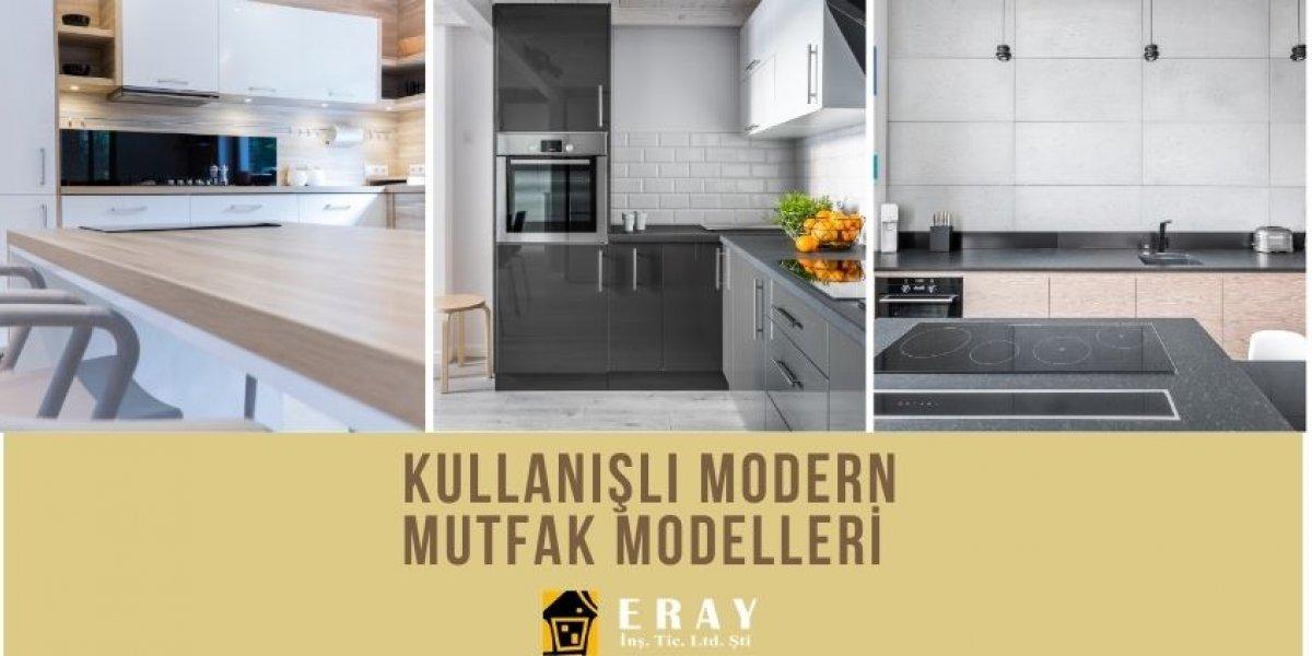 Kullanışlı Modern Mutfak Modelleri