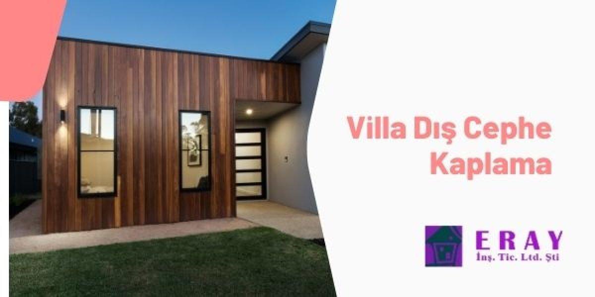 Villa Dış Cephe Kaplama