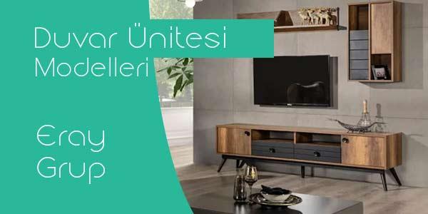 Duvar Ünitesi Modelleri: TV Ünitesi
