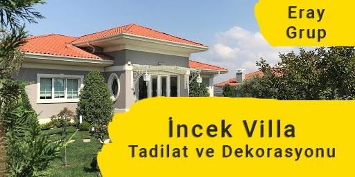 İncek Villa Tadilatı Dekorasyonu