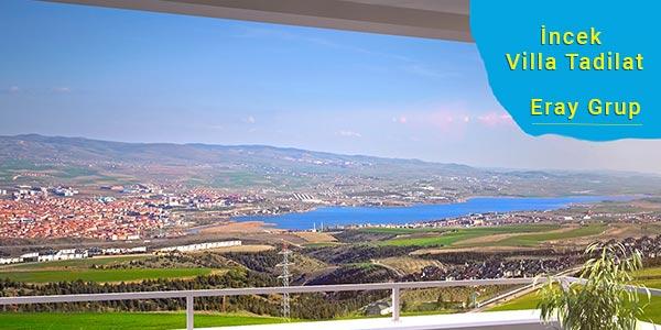 İncek Villa Tadilatı Dekorasyonu - Eray Grup Ankara